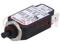 Interruptor magnetotérmico; Unom:240VCA; 48VCC; 2,5A; 10g