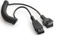 Zebra 25-114186-03R audio kabel Zwart