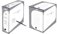 ELBA Boîte à archives SOHO, largeur: 150 mm, gris/blanc (61064945)
