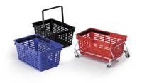 DURABLE Einkaufskorb SHOPPING BASKET 19, blau