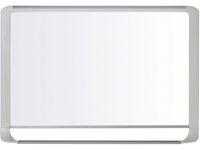 Bi-Office MasterVision magnetisch whiteboard, gelakt staal, glanzend wit oppervlak, lichtgrijs frame, 1800 x 1200 mm