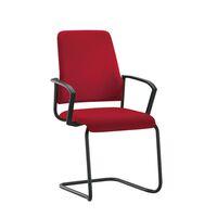 Krzesło dla gości GOAL, Freischwinger, opak. 2 szt.