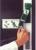 Türwächter für Treibriegel nach links, ohne Profilhalbzylinder, NL, Deckelabhebekontakt, Fremdeinspeisung