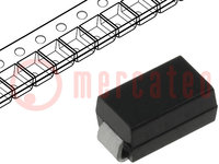 Diode: Gleichrichter; SMD; 600V; 1,5A; 75ns; Verpackung: Rolle, Band