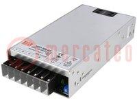Tápegység: impulzusos; modul; 336W; 24VDC; Ukim:21,6÷28,8VDC; 14A