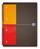 Oxford Notebook, Optik Paper 90gqm, A4+, 5mm kariert, 80