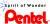 Tintenroller Original Ball Pentel R50, Kult!, Plastikspitze, 0,4 mm, rot Bild 5
