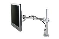 Le ErgoMonarm basic est un support de bureau avec 3 points de flexion pour écrans LCD/LED/TFT jusqu'à 26