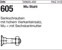 DIN605 M6x60