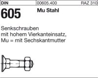 DIN605 M10x40