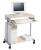 DURABLE PC Arbeitsstation Standard, metallic silber/ahorn