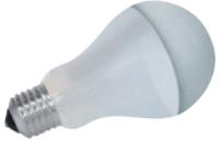 Produktabbildung - Halogen Kopfspiegellampe silber mit mattem Körper 70 Watt E27