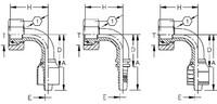 AEROQUIP 1A25DSB16