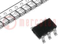 Tranzisztor: N/P-MOSFET; egysarkú; 20/-20V; 3,1/-4,5A; 1,1W