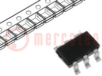 Transistor: N/P-MOSFET; unipolar; 20/-20V; 3,1/-4,5A; 1,1W; TSOT26