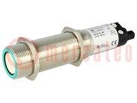 Sensore: ultrasuoni; diritta; Portata:0,2÷1,3m; PNP / NO; PIN:4