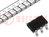 Microcontrolador PIC; Memoria:768B; SRAM:24B; 4MHz; SMD; SOT23-6