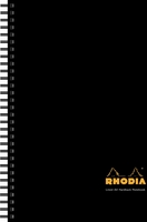 Rhodia Notebook Hardback Wirebound Lined & Margin A4 Ref 119232C [Pack 3]