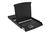 Konsole mit 43,2cm ( 17') TFT, US Tastatur, KVM Switch, 8-Port, touchpad, 1U RAL9005, schwarz, Digitus® [DS-72002US]