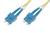 DIGITUS Fiber Optic Patch Cord. SC to SC OS2. Singlemode 09/125 µ. Duplex