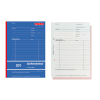 Lieferscheinbuch 201, A5, 2x50 Blatt, mit Kohlepapier