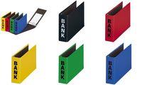 """PAGNA Bankordner """"Basic Colours"""", für Kontoauszüge, schwarz (64080101)"""