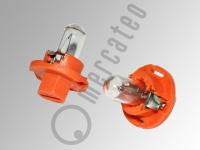 Kunststoffsockellampe, 12V, 1,1 Watt, Sockel BX8,4D
