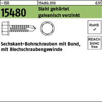 ISO 15480 Stahl ST 5,5 x 25 galv. verzinkt gal Zn S