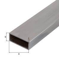 BA-Profil,Rechteck, Alu natur, LxBxHxS 1000 x 50 x 20 x 2 mm