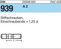 DIN939 A2 M16x90