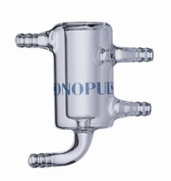 Accessories for SONOPULS Ultrasonic homogenisers HD 2200 glass Type DG 3 flow-through vessel with cooling jacket For pro