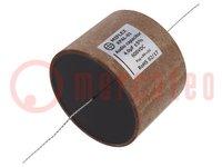 Kondensator: aluminium-polipropylen-papier; 4uF; 600VDC; ±5%
