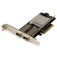 StarTech.com 2 poorts 10G glasvezel netwerkkaart met open SFP+ PCIe, Intel 82599 chipset