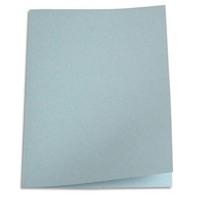 5 ETOILES Paquet de 100 chemises carte recycl�e 180 grammes coloris gris
