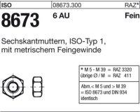 Sechskantmuttern M12x1,25