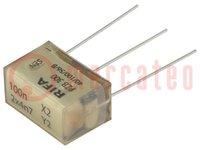 Filter: Entstörkondensator; Cx:100nF; Cy:4,7nF; Montage: THT; ±20%