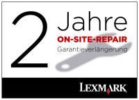 Lexmark X734 2 Jahre (gesamt) On-Site-Repair-Garantie nächster Arbeitstag