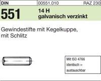 DIN551 M3x8