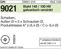 DIN9021 4,3x12x1