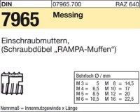 Einschraubmuttern M10x30