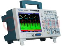 Osciloscopio: digital; Banda: ≤100MHz; Canales:2; 1Mpts; 1Gsps