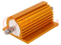 Resistor: bobinado; con radiador; 115Ω; 250W; ±1%; 114x77x54,5mm