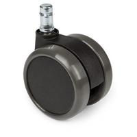 5x Hartbodenrollen ROLO 11mm / 65mm Büro-Stuhl-Rollen für Hartböden (5er Pack) hjh OFFICE