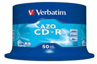 Verbatim CD-R 80, 700 MB, 52x, 50er Spindel