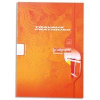 CALLIGRAPHE Cahier travaux pratiques piqûre 70g 64 pages grands carreaux+unie format A4-CALLIGRAPHE 7000