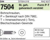 DIN7504 P5,5x50-T25