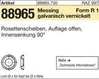 Rosettenscheiben,offen 8,6x13,0x3