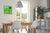 Be!Board Glas-Magnettafel, 45x45 cm, grün