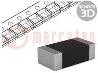 Resistor: thick film; SMD; 1206; 3.3kΩ; 0.25W; ±1%; -55÷155°C