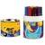 BIC Pot de 12 feutres à dessin pointe ogive extra-large encre lavable CONTE DECORALO